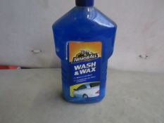 3x ArmorAll - Wash & Wax - 1 Litres - All Unused.