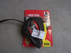Dekton - 5 Metre Tape Measurer (Dual Markings) - New Unused.