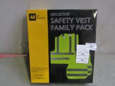 AA - Safety Vest Family Pack - Unused & Boxed.