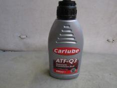 4x Carlube - ATF-Q3 Automatic Transmission Fluid 500ml - Unused.