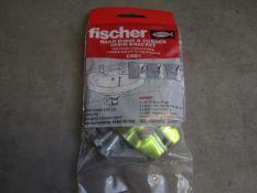 10x Fischer - Hand Rinse & Corner Basin Bracket CBB1 - All Unused & Packaged.
