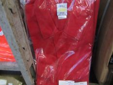 2x Black Knight - Red Boilersuit - Size Small - Unused & Packaged.