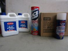 Deluxe Winter Kit - Includes : 1x Car Plan - Blue Star Anti-Freeze - 2.5 Litres - Sealed. 1x Ice