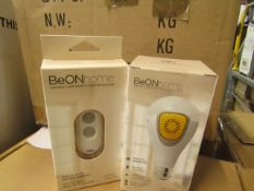 Be on home Smart Security Lighting - comes with Be on home security and safety lighting system - New