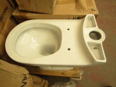 Victoria Plumb PAN1060 toilet pan, new and boxed.