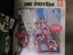 One Direction - Single Duvet Set - Unused & Packaged.