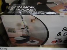 Asab - Spin Mop & Bucket - Unchecked & Boxed.