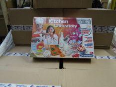 Pallet of 15x Boxes (6 Units Per Box) - Clementoni - Science & Play Kitchen Laboratory - New &