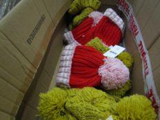 5x Kids beanie hats Picked at Random.