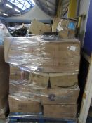 Pallets of Customer return Household items from a large online retailer.