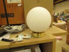 | 1X | SWOON RHE WALL LIGHT IN BRASS | UNCHECKED AND BOXED | RRP £79 |