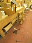 | 1X | SWOON KIRI FLOOR LAMP IN BLACK | UNCHECKED AND BOXED | RRP £-|