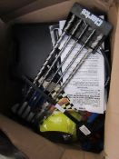 BOX OF VARIOUS TOOLS 9616, This lot is a Machine Mart product which is raw and completely