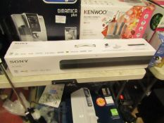 Sony HT-X8500 sound bar, tested working and boxed. RRP £249.99