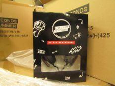 4x 5 Seconds of summer headphones - New & Boxed