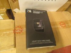Pulse on heart rate wrist band - New & Boxed
