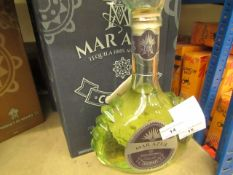 NO VAT!! 1 X 700ml Bottle of Mar Azul Coconut flavoured Tequila, 25% ABV (50% proof), new and