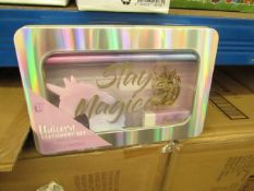 6 x Unicorn Stationary sets in Metal cases. New & Packaged