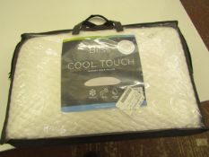 Bliss Cool Touch Memory Foam Pillow.New
