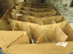 Box of Approx 30 0.1L Glasses. New & Boxed