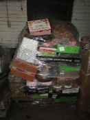 Pallet of Raw customer returns House hold items some are undelivered items and some will be