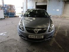 59 Plate Vauxhall Corsa SXI 1.2i, 94,583 miles (unchecked) MOT until 09/07/21, starts and runs, goes
