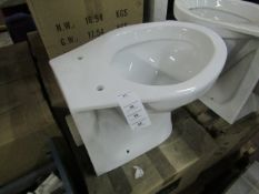 Vogue Kudos BTW WC toilet pan, new and boxed.