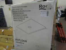 Roca In-Floor 1400 x 800 shower tray, new and boxed. RRP Circa £500.00
