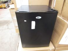 SIXTY IceQ 70ltr Table Top Fridge in Black, Refurbished RRP £119.99
