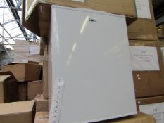 SIXTY IceQ 70ltr Table Top Fridge in White, Refurbished RRP £119.99