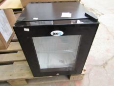 SIXTY IceQ 22ltr Portable Mini Bar with Glass Door, Refurbished RRP £129.99