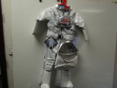 Adventure Factory - American Astronaut Costume - Size 3-4 Years - Unused With Original Tags.