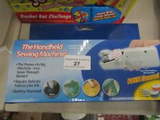 Handheld Sewing Machine - Unchecked & Boxed.