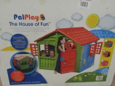 """PalPlay - The House Of Fun (Extra Large Play House) H 42.9"""" X W 45.3"""" - Unchecked & Boxed."""