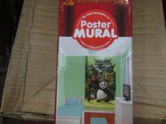 10x Kung Fu Panda - Poster Murals - All Unused & Boxed.