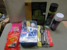 Deluxe Car Care Kit - 1x Carplan - Easy Freezie Winter Pack - Unused. 1x AA - Safety Vest Family