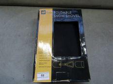 AA - Folding Snow Shovel - Unused & Boxed.