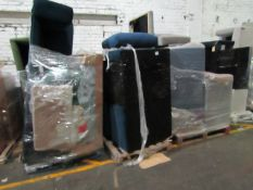 | 8X | PALLET OF SWOON B.E.R SOFAS AND SOFA PARTS, UNMANIFESTED, WE HAVE NO IDEA WHAT IS ON THIS
