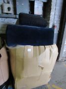 | 1X | PALLET OF SWOON B.E.R SOFA CUSHIONS, UNMANIFESTED, WE HAVE NO IDEA WHAT IS ON THIS PALLET