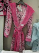 Girls Fleecy Dressing Gown Aged 7-8yrs New With Tags