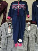 Fleecy Onesie Aged 7-8yrs New With Tags