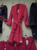 Girls Fleecy Dressing Gown Size 12-14 New With Tags