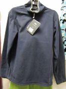 Regatta Ashville Fleece Navy/Grey Size X/S New With Tags