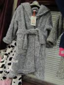 Childs Fleecy Dressing Gown Aged 4-5yrs New With Tags