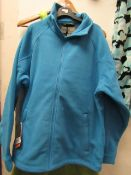 Regatta Thorr 111 Fleece Costal Blue Size S New With Tags