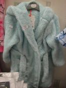 Girls Fleecy Dressing Gown Aged 3-4yrs New With Tags