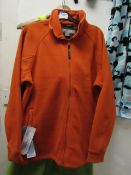 Regatta Thorr 111 Fleece Firebrick Red Size S New With Tags