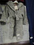 Childs Fleecy Dressing Gown Aged 3-4yrsNew With Tags
