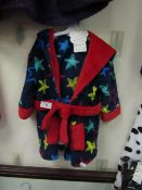 Childs Dressing Gown Aged 6-12 Months New With Tags