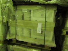 Pallet of approx 28x Lecico Senner 430mm basins, new.